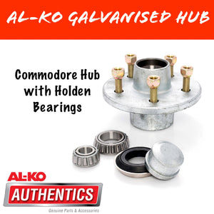 AL-KO Commodore Gal Hub with Holden Bearings