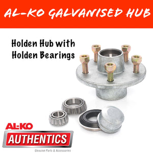 AL-KO Holden Hub with HT Holden Bearings