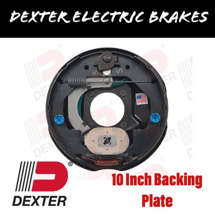 DEXTER 10 INCH COMPLETE BACKING PLATE