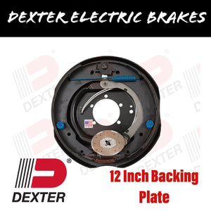 DEXTER 12 INCH COMPLETE BACKING PLATE