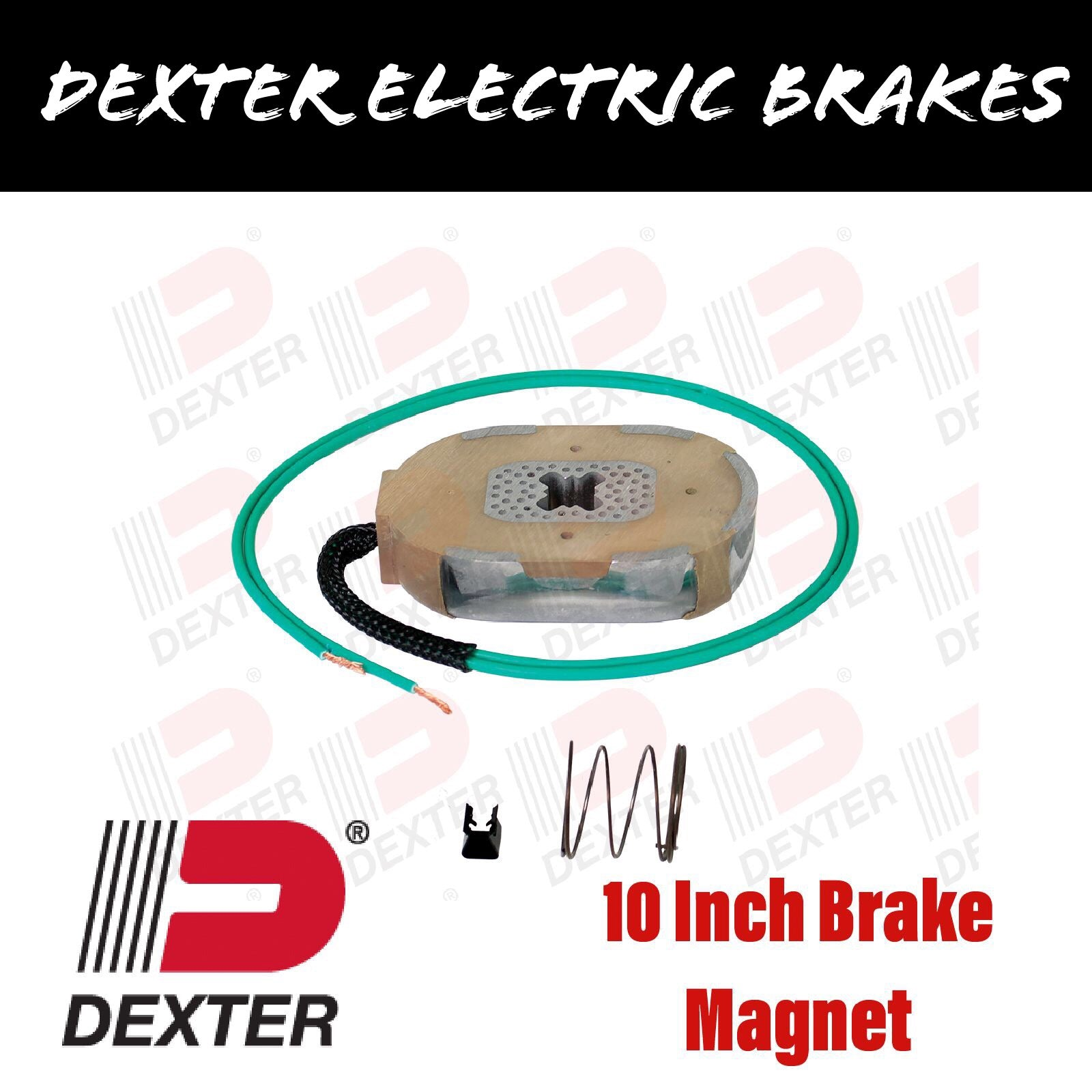 DEXTER 10 INCH ELECTRIC BRAKE MAGNET