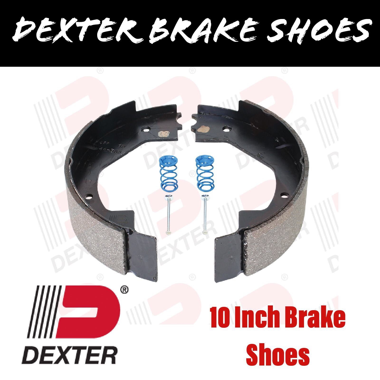 DEXTER 10 INCH BRAKE SHOES