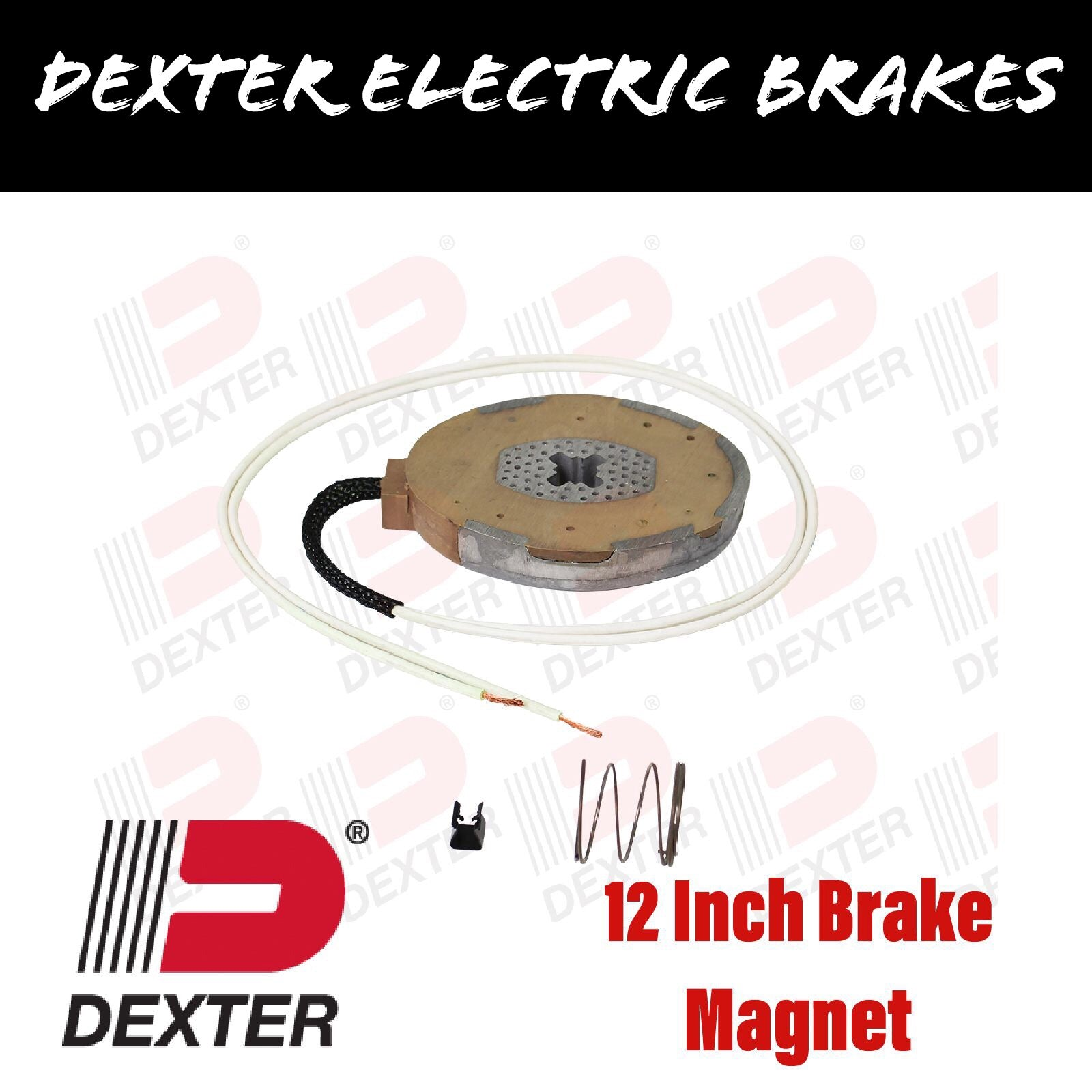 DEXTER 12 INCH ELECTRIC BRAKE MAGNET