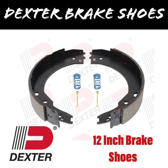 DEXTER 12 INCH BRAKE SHOES