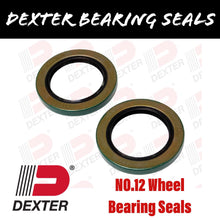 Load image into Gallery viewer, DEXTER NO.12 WHEEL BEARING SEALS 6000LBS