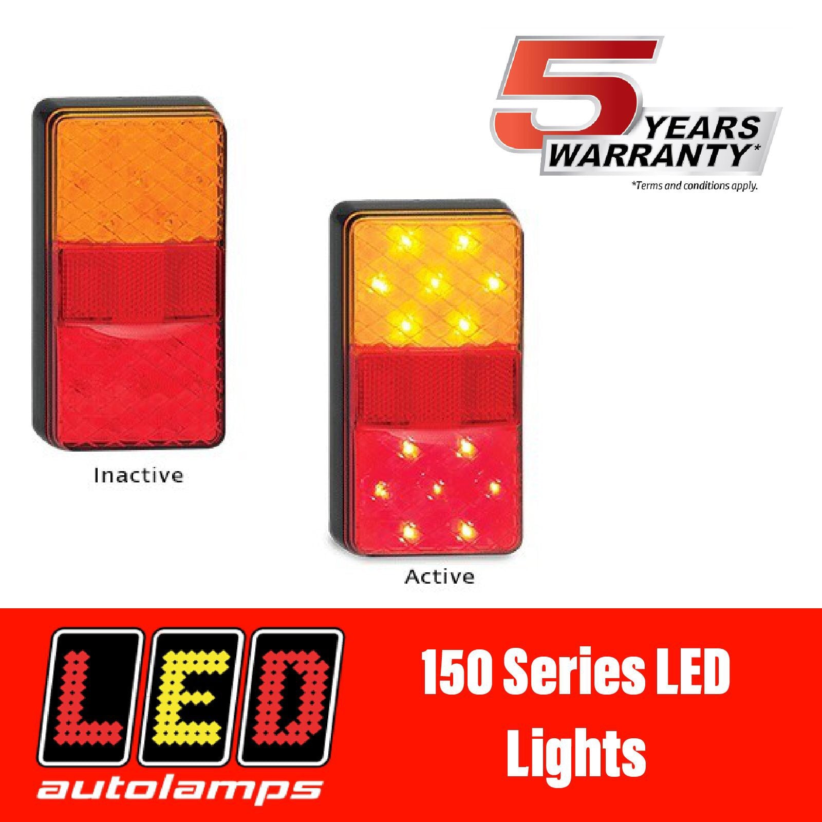 LED AUTOLAMPS 150 Series LED Lights