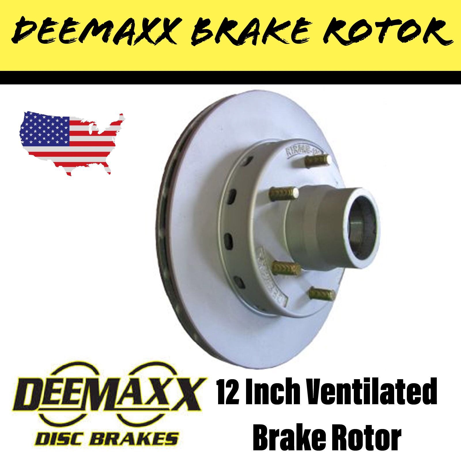 DEEMAXX 12 INCH INTEGRAL Brake Rotor