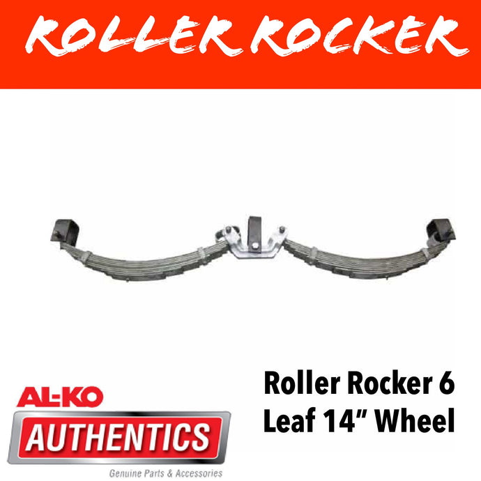 AL-KO ROLLER ROCKER SPRINGS 6 LEAF SUIT 14 INCH WHEELS