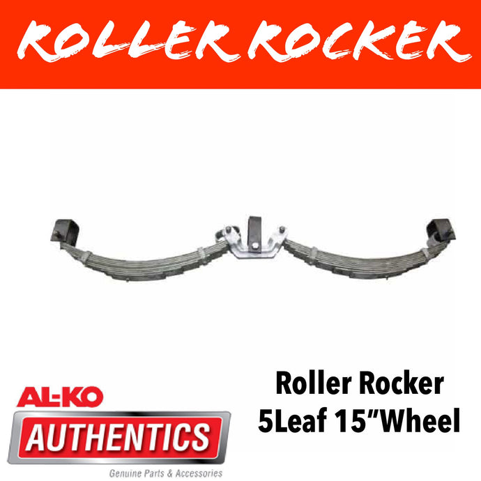 AL-KO ROLLER ROCKER SPRINGS 5 LEAF SUIT 15 INCH WHEELS