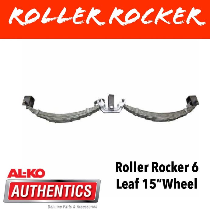 AL-KO ROLLER ROCKER SPRINGS 6 LEAF SUIT 15 INCH WHEELS