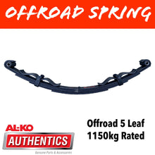 Load image into Gallery viewer, AL-KO OUTBACK REBOUND 5 Leaf Offroad Spring