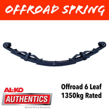 Load image into Gallery viewer, AL-KO OUTBACK REBOUND 6 Leaf Offroad Spring