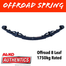 Load image into Gallery viewer, AL-KO OUTBACK REBOUND 8 Leaf Offroad Spring