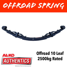 Load image into Gallery viewer, AL-KO OUTBACK REBOUND 10 Leaf Offroad Spring