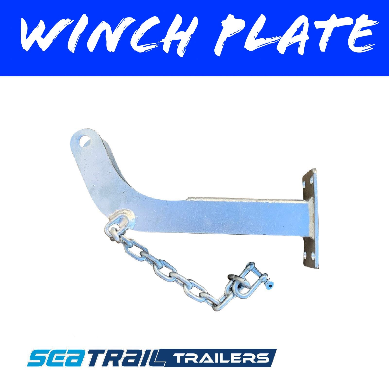 WINCH PLATE SUIT 50 TO 75MM Winch Posts