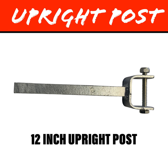 19MM SQUARE Upright Post 12 Inch