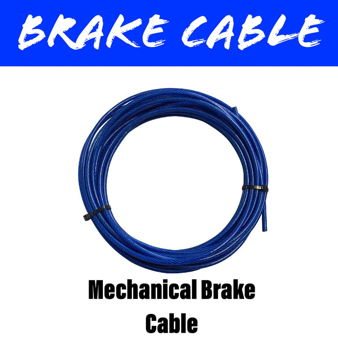 10 METRE PLASTIC COATED 4MM Brake Cable