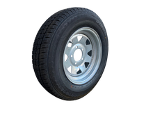Load image into Gallery viewer, 14 INCH GALVANISED WHEEL AND LT TYRE (MULTIPLE SIZES)
