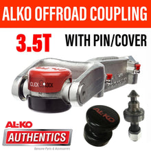 Load image into Gallery viewer, ALKO OFF ROAD PIN COUPLING AND PIN 3.5T ALKO CLICK LOCK