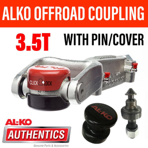 ALKO OFF ROAD PIN COUPLING AND PIN 3.5T ALKO CLICK LOCK