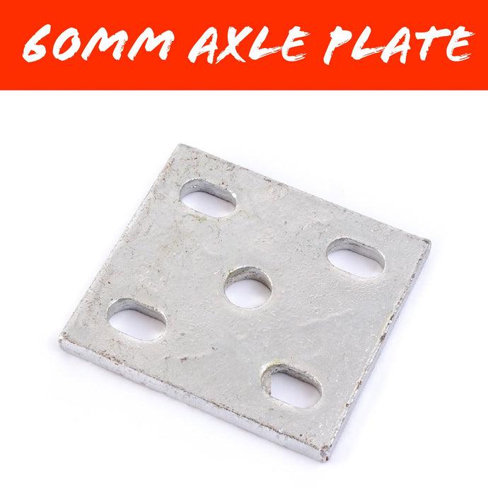 60MM AXLE FISHPLATE 1/2 INCH