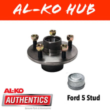 Load image into Gallery viewer, AL-KO FORD Unbraked Hub with Holden Wheel Bearings