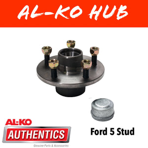 AL-KO FORD Unbraked Hub with Holden Wheel Bearings