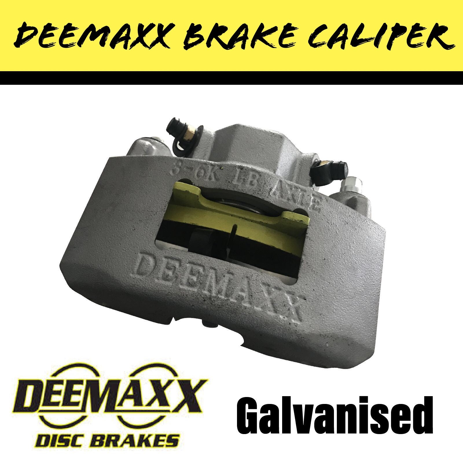 DEEMAXX/KODIAK DACROMET Hydraulic Trailer Brake Caliper