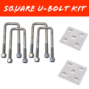 45mm x 150mm SQUARE U-BOLT KIT