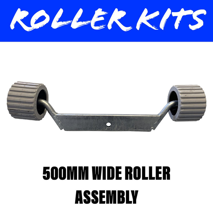 500MM WIDE Roller Assembly