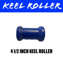 Load image into Gallery viewer, 4 1/2 INCH BLUE NYLON Centre Roller