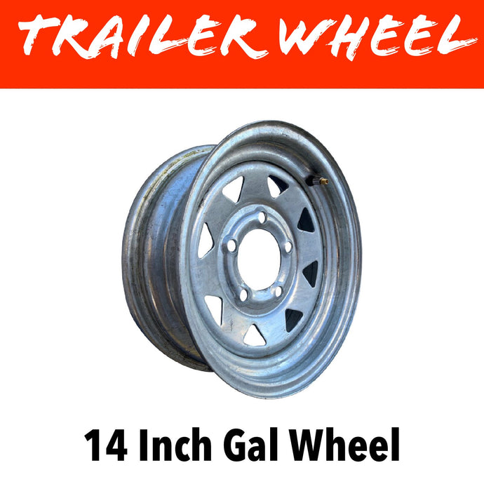 14 INCH GALVANISED WHEEL
