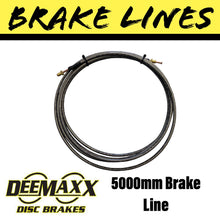 Load image into Gallery viewer, 5000MM FLEXIBLE STAINLESS STEEL Brake Line