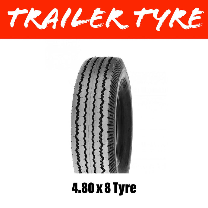 4.80 X 8 TRAILER TYRE 6 PLY