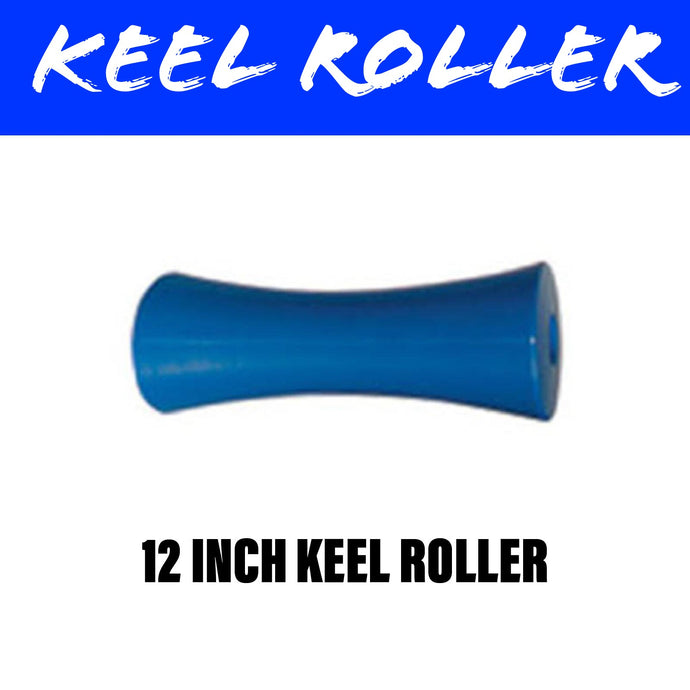 12 INCH BLUE NYLON Concave Centre Roller