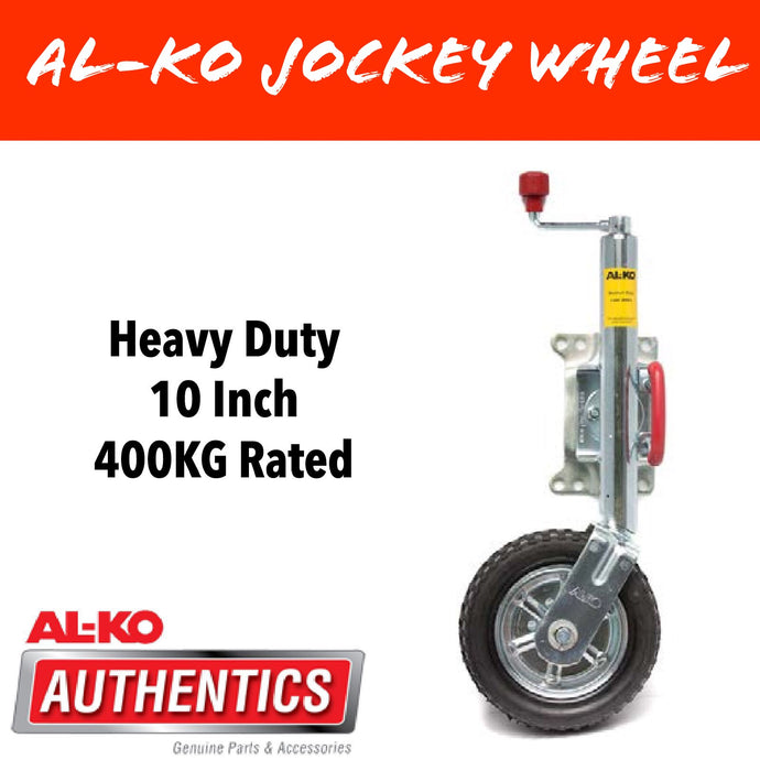 AL-KO 10 INCH PREMIUM Swing Up Jockey Wheel