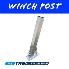 Load image into Gallery viewer, 75x75mm WINCH POST