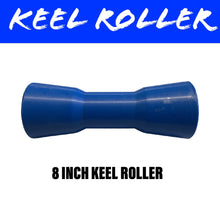 Load image into Gallery viewer, 8 INCH BLUE NYLON Centre Roller