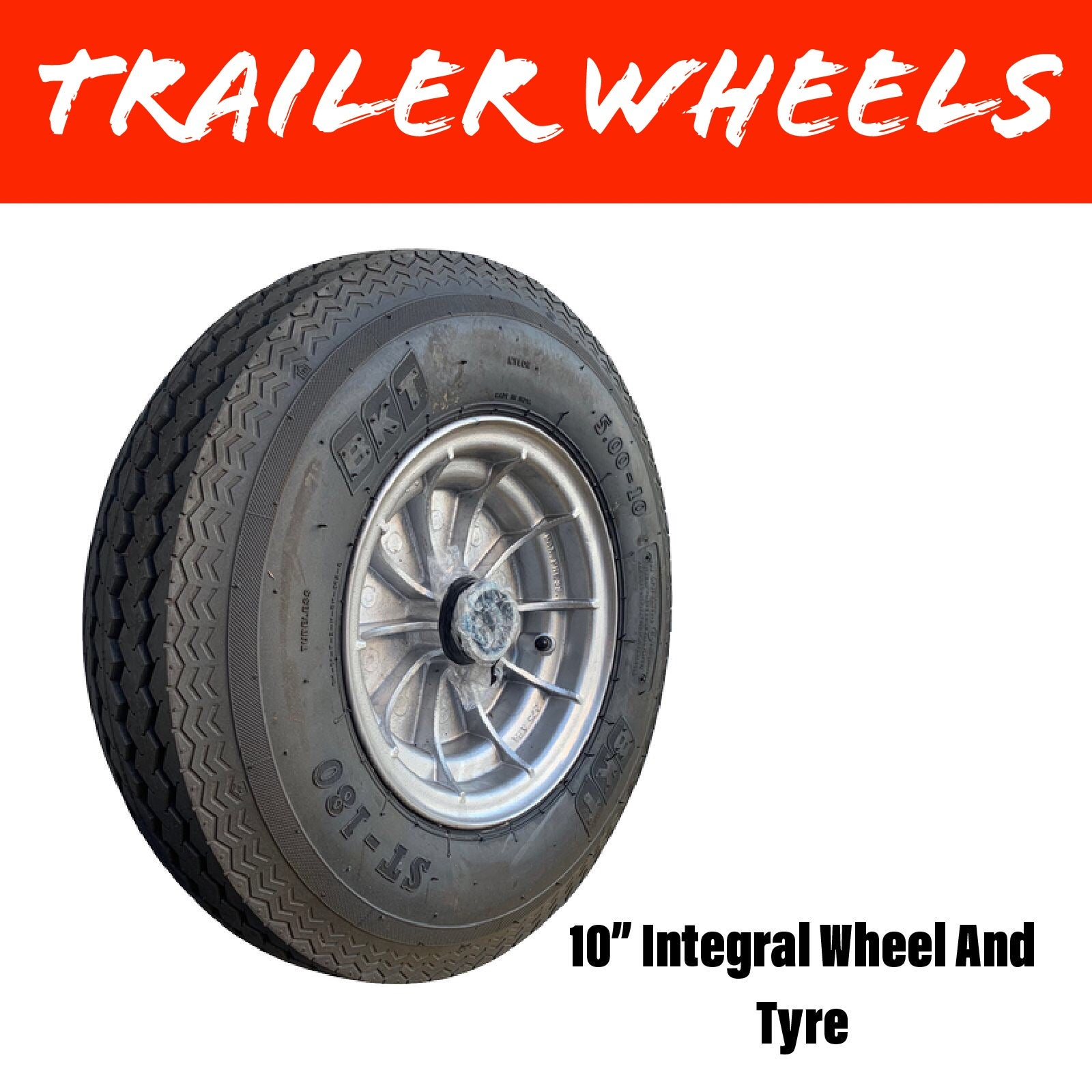 10 INCH INTEGRAL Wheel and Tyre