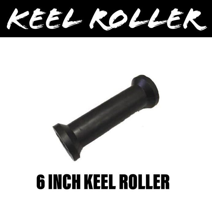 6 INCH BLACK RUBBER Centre Roller
