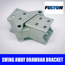 Load image into Gallery viewer, FULTON FOLDAWAY DRAWBAR BRACKET BOLT ON 75x75mm