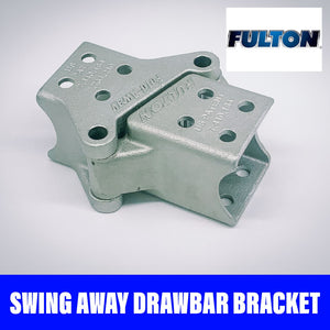 FULTON FOLDAWAY DRAWBAR BRACKET BOLT ON 75x75mm