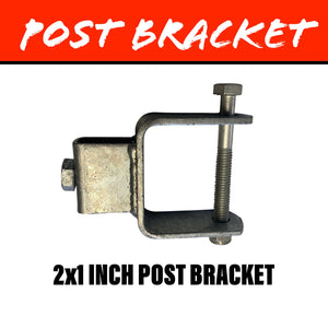 20MM SQUARE Post Bracket 50X25MM