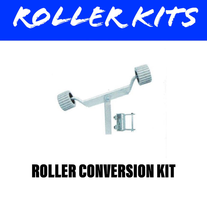 FRONT FIXED Wobble Roller Kit Pair