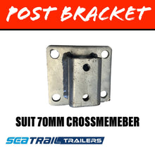 Load image into Gallery viewer, SEATRAIL 40MM SQUARE Post Bracket