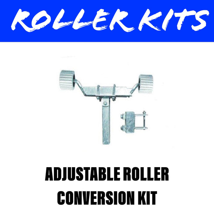 FRONT ADJUSTABLE WOBBLE ROLLER KIT PAIR