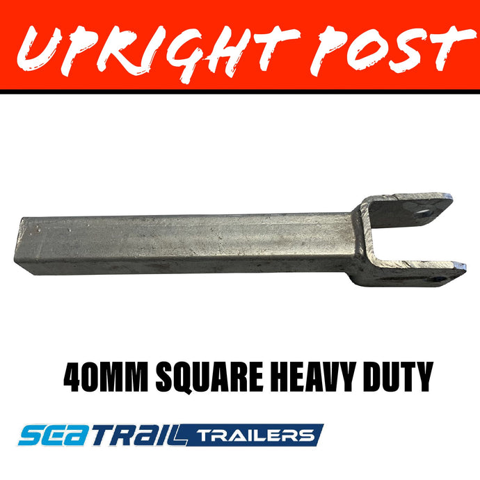SEATRAIL 40MM SQUARE Upright Post HEAVY DUTY