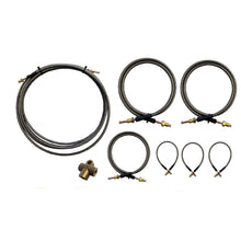 Load image into Gallery viewer, 6000MM S/S FLEXIBLE BRAKE LINE KIT Tandem Axle