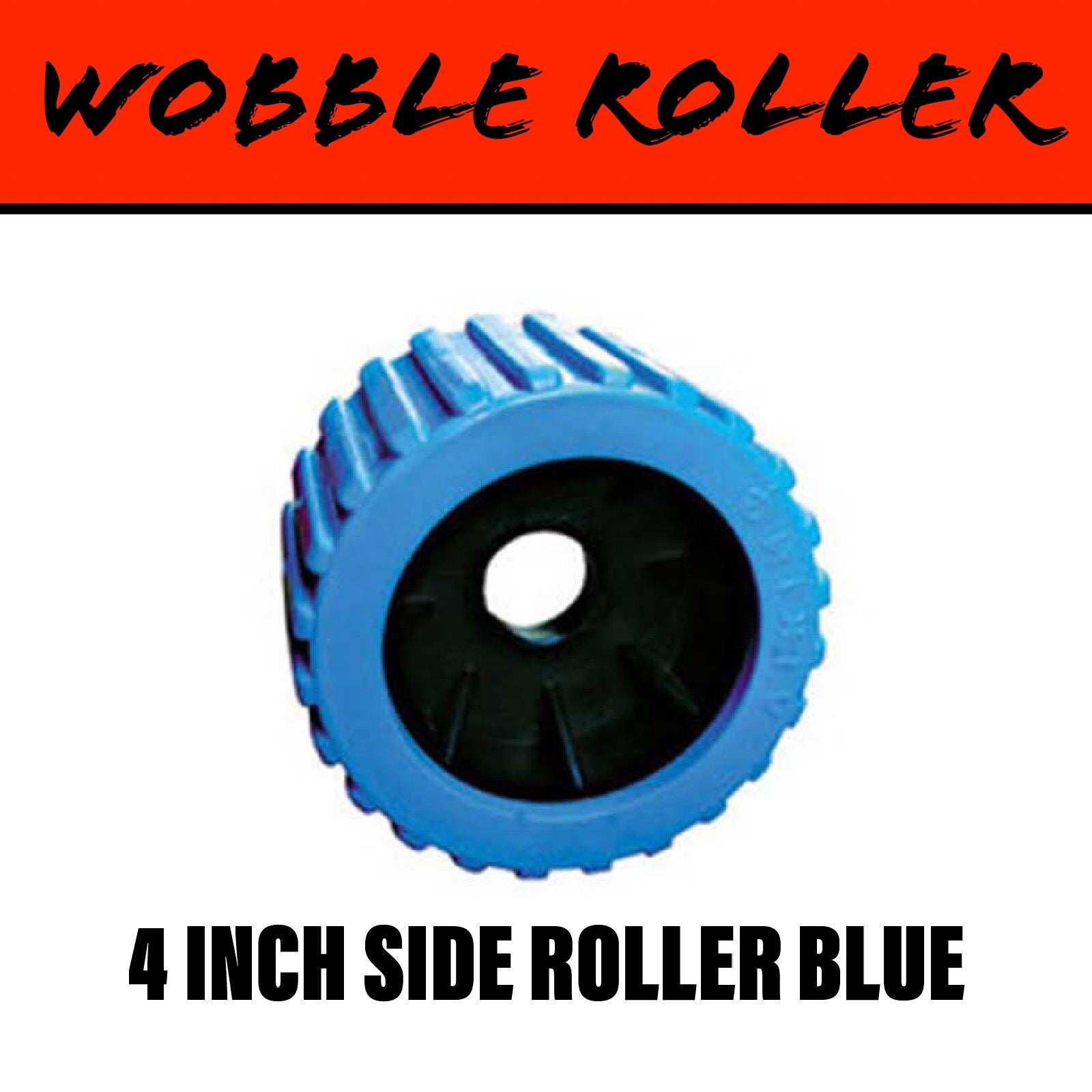 110mm BLUE Wobble Roller