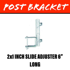 20MM SQUARE POST Slide Adjuster Bracket 50X25MM